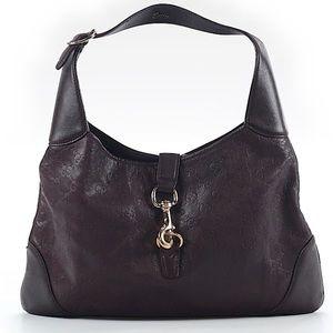 Gucci guccissima Brown leather purse authentic